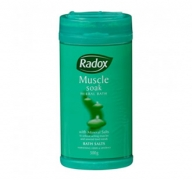 Radox Muscle Soak 500g Herbal Bath Salts $4.37